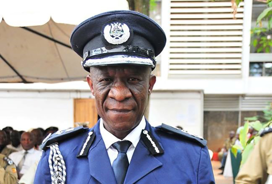 IGP Okoth Ochola has reshuffled over 170 officers in the Uganda Police in a recent shakeup of the police force (FILE PHOTO)