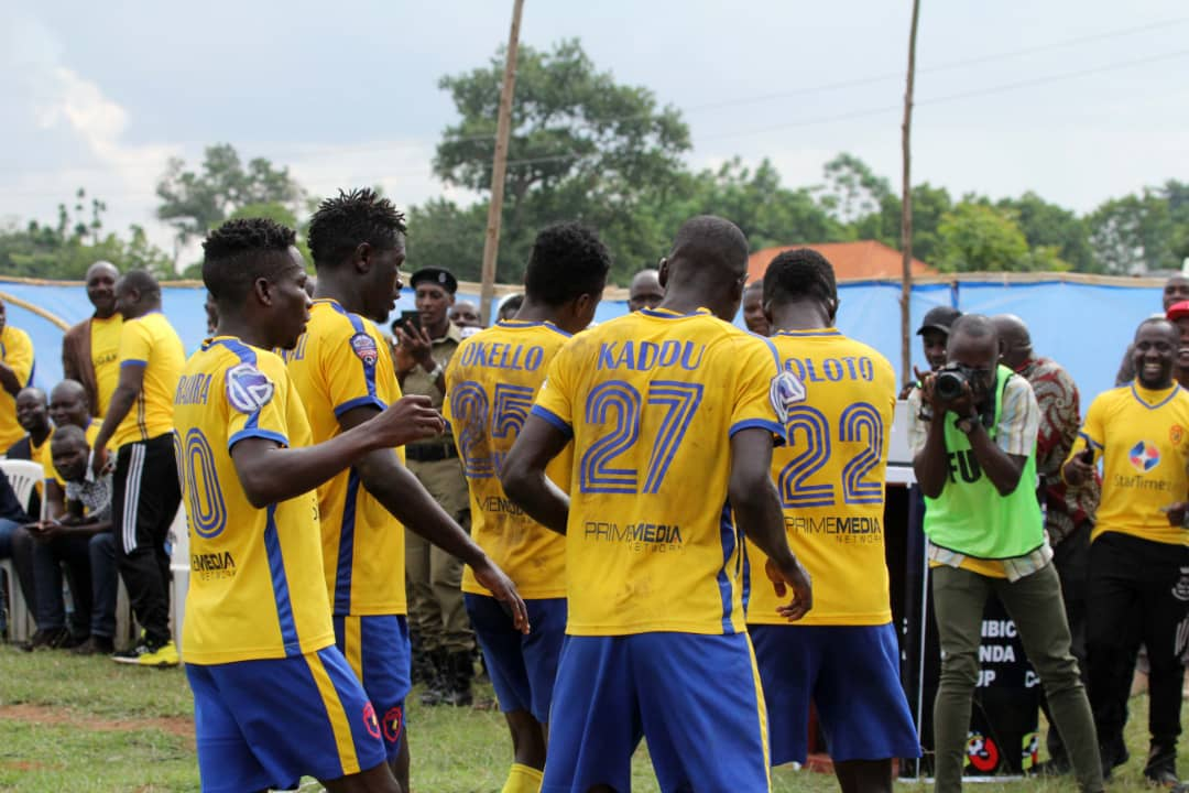 This will be KCCA's first competitive game after elimination from the CAF Confederations Cup (file photo)