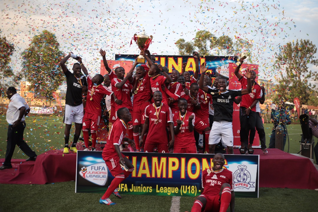 Vipers JT defeated Onduparaka JT to win the title in Tuesday