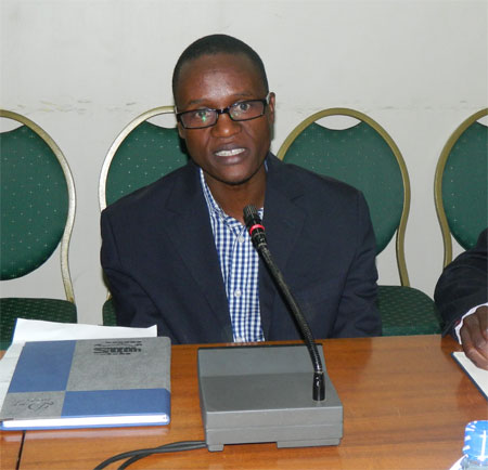 James Tumusiime, the youthful Managing Director of the Ugandan Weekly newspaper - The Observer quits