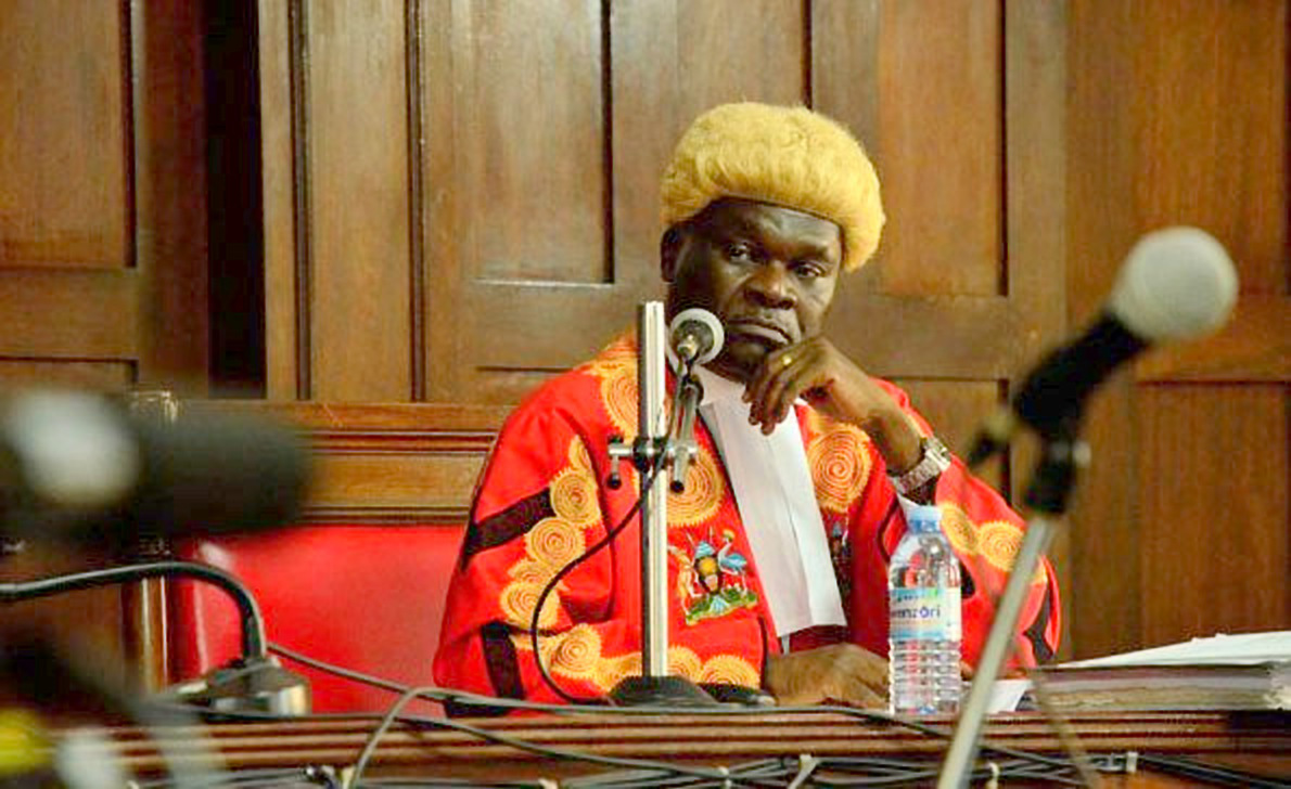 Deputy Chief Justice Alfonse Owiny-Dollo (FILE PHOTO)