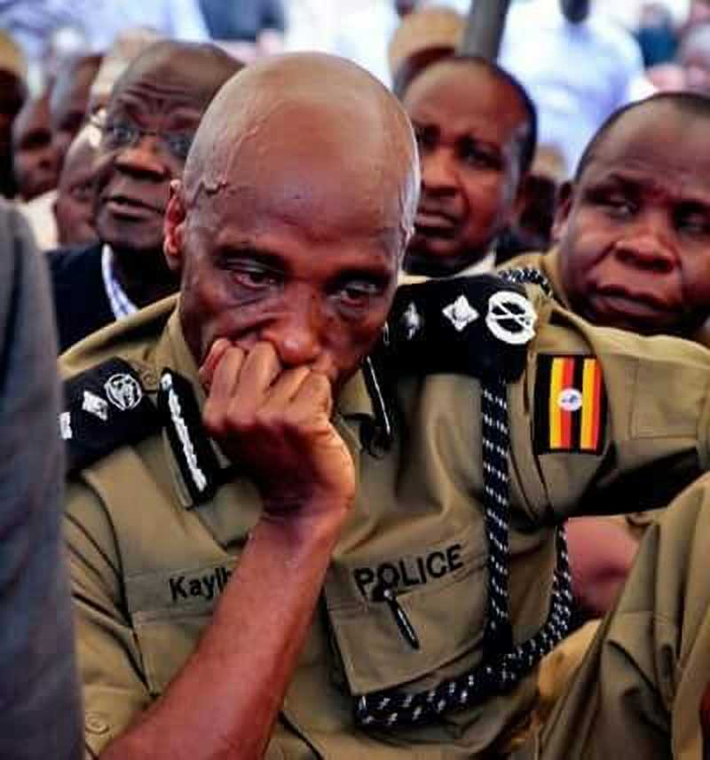 US government has slapped sanctions on former IGP Kale Kayihura (PHOTO/File)