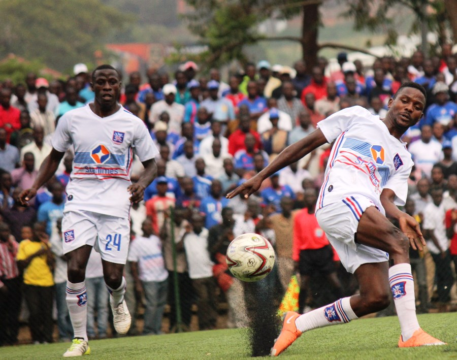 Ibrahim Kiyemba (left) last played for SC Villa in the Uganda Premier League (file photo)