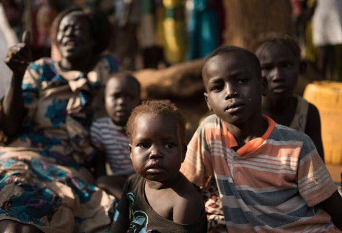 Children, especially those in refugee camps. FAO has urged government to add refugees on the National Development program in a new report released (FILE PHOTO)