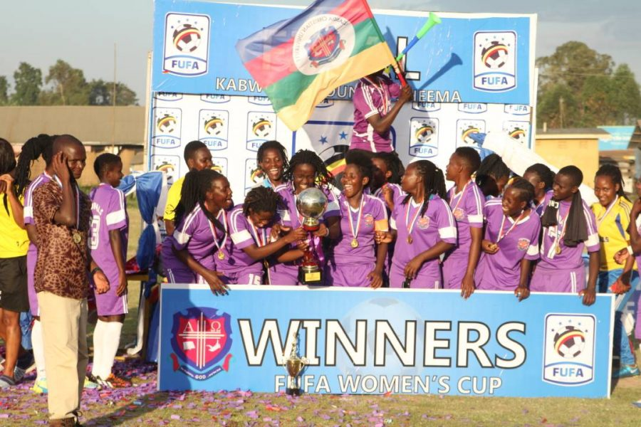 UCU defeated She Corporates to win the 2018 edition (Photos by FUFA media)