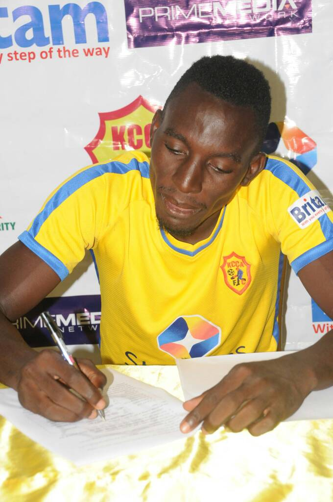 Muwanga joined KCCA FC last summer. (file photo)