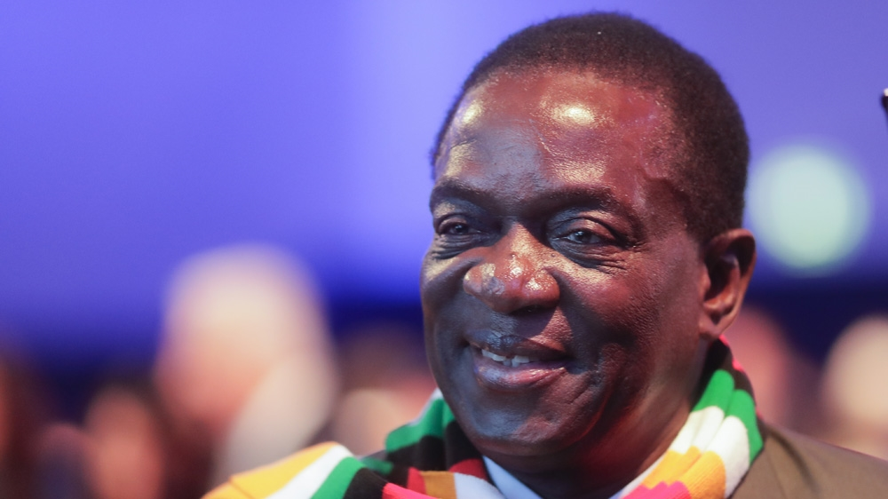 Emmerson Mnangagwa took power in November 2017 he survived an attempt on his life