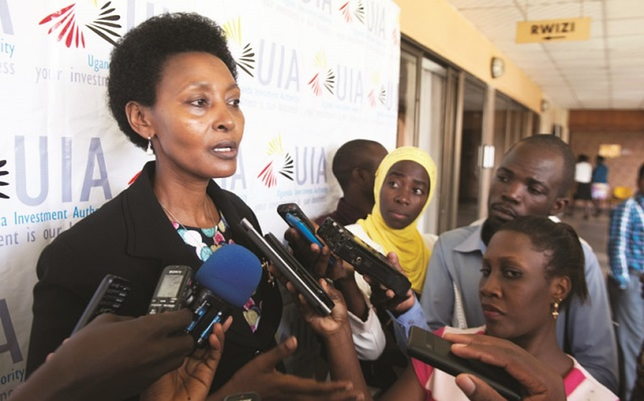 The interdicted UIA ED Ms Jolly Kaguhangire has declined to vacate office, claiming that the Board decision was null and void citing that the decision was  made without quorum (FILE PHOTO)