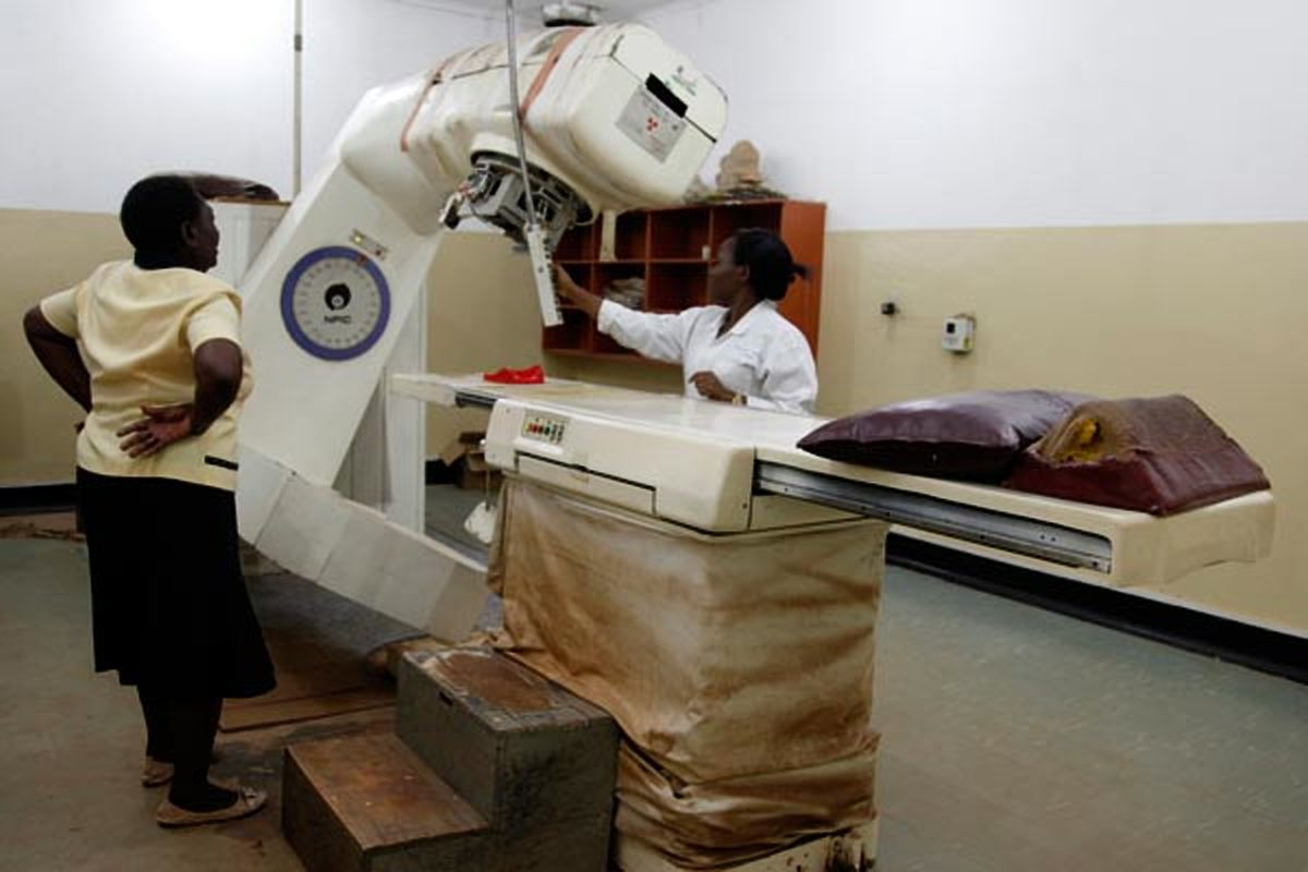 The cancer machine at Uganda Cancer Institute (UCI)(FILE PHOTO)