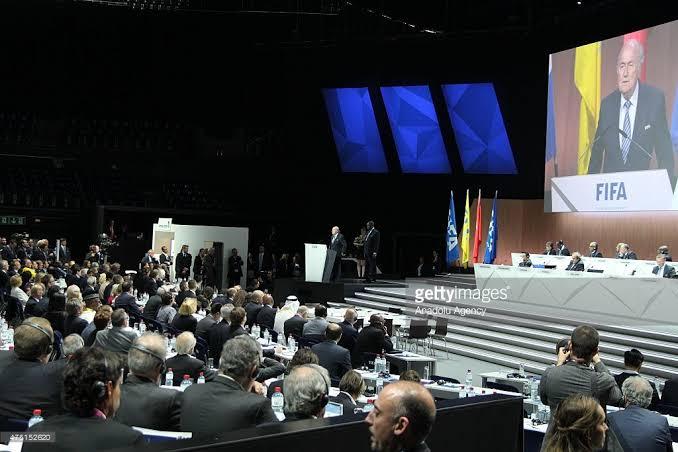 A past FIFA congress.