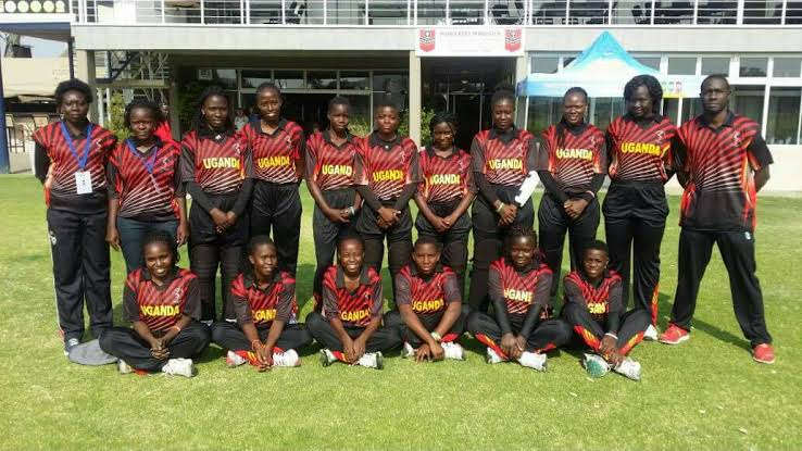 The Lady Cricket Cranes defeated Zimbabwe to win the African Championship last year (Courtesy Photo)