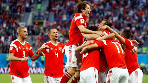 Russia have so far won two games at the 2018 World Cup