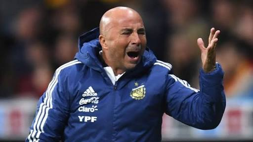 Jorge Sampaoli has seen his Argentina side on the brink of a group stage elimination at the 2018 World cup