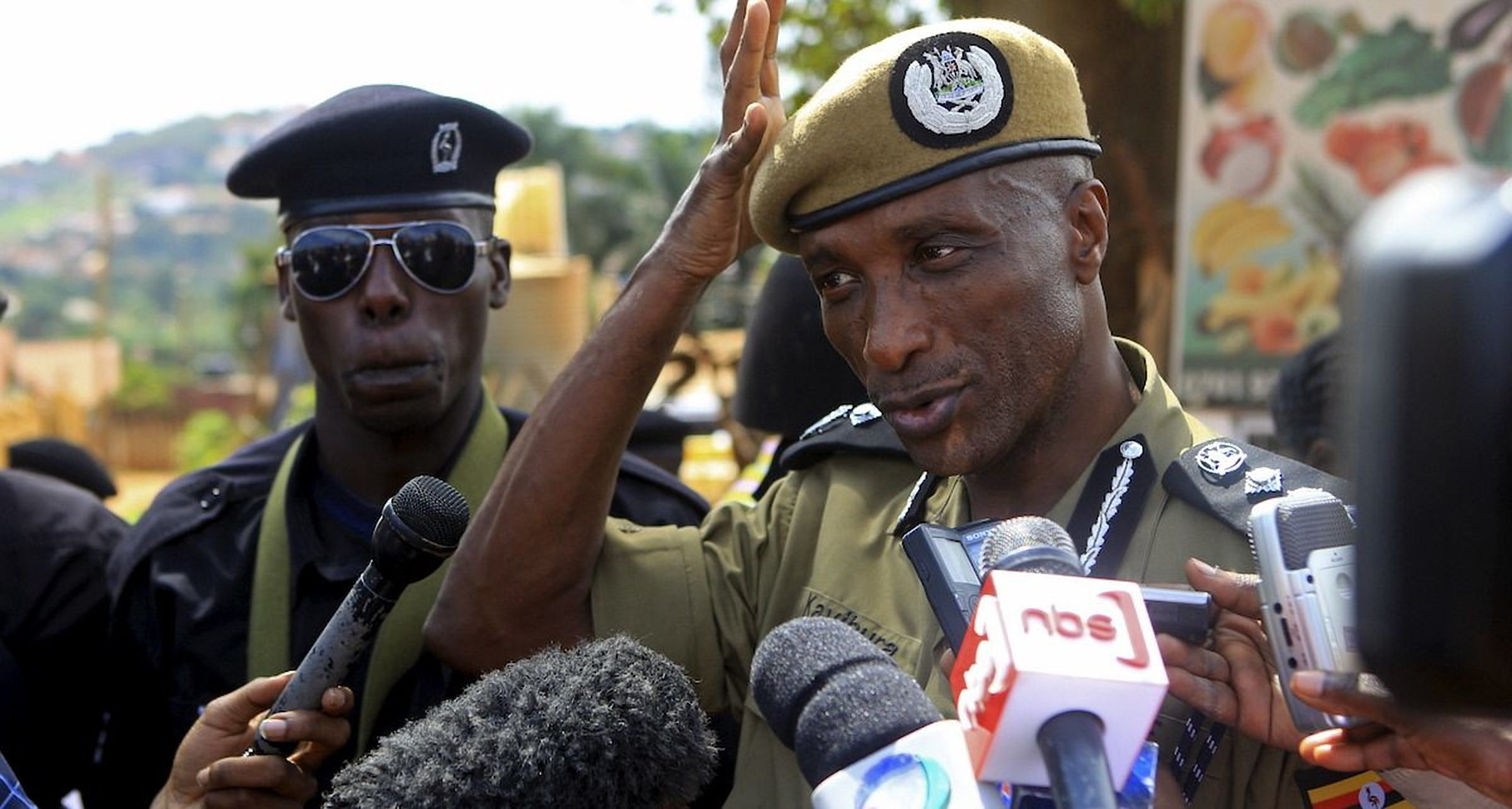 Former Inspector General of Police Kale Kayihura faces travel sanctions over human rights violation. (PHOTO/File)