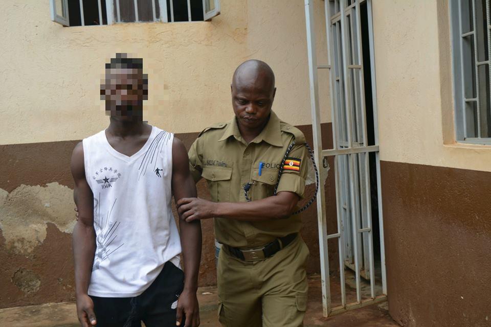 Derrick Jjuko arrested from Katosi in Mukono
