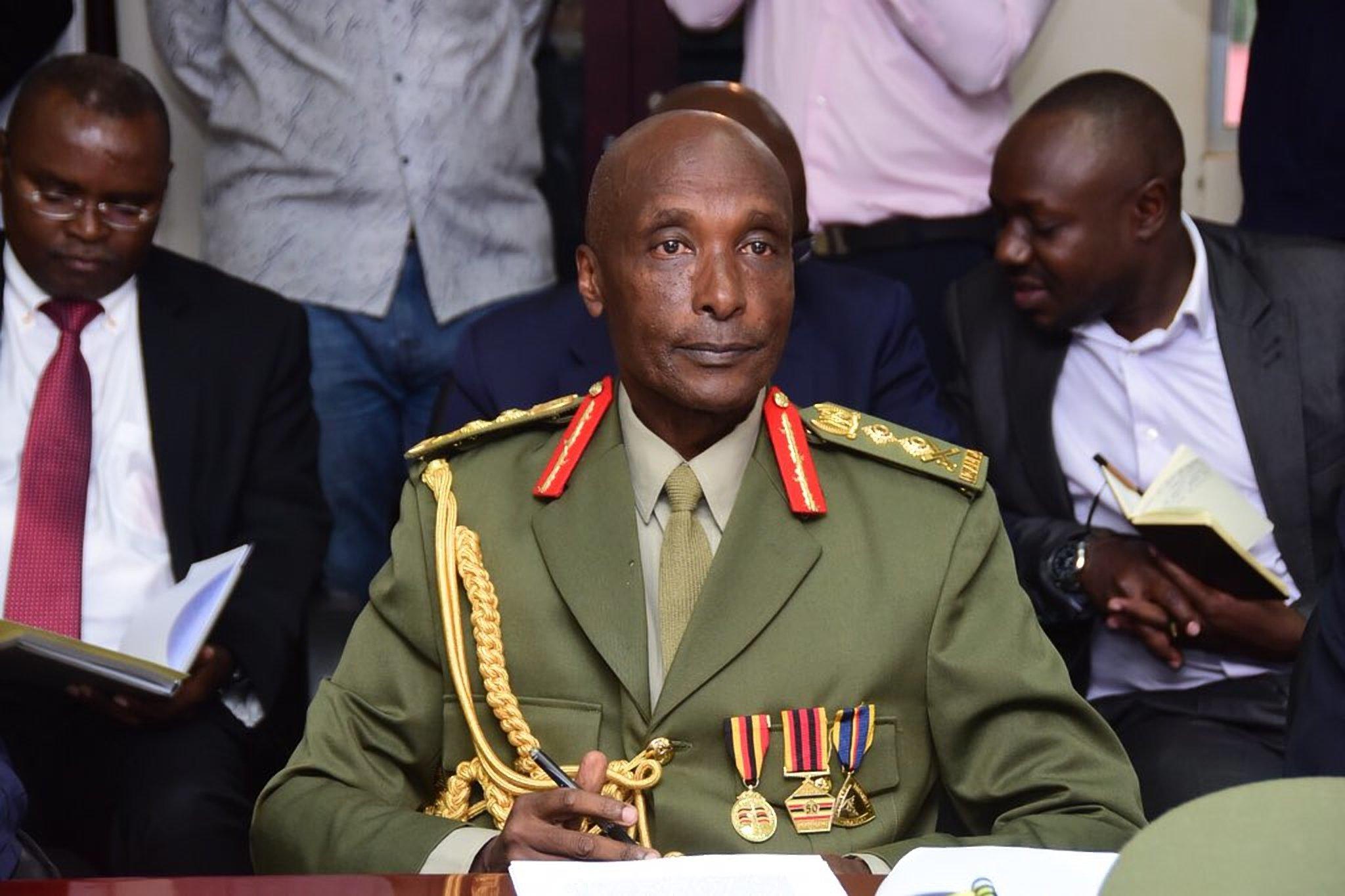 Former Inspector General of Police, Gen Kale Kayihura (FILE PHOTO)