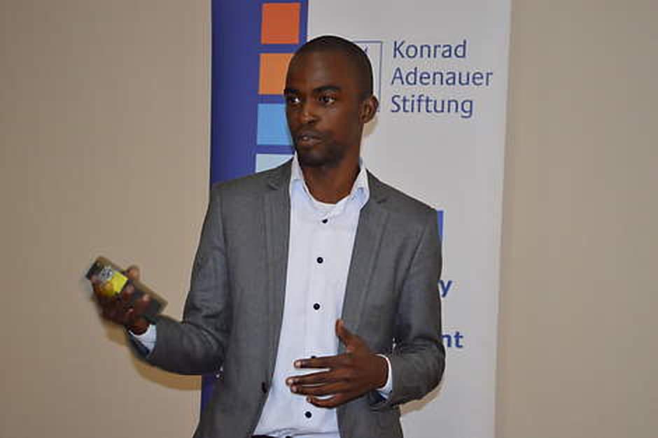 Head of Programs at the Centre for Policy Analysis, Eshban Kwesiga