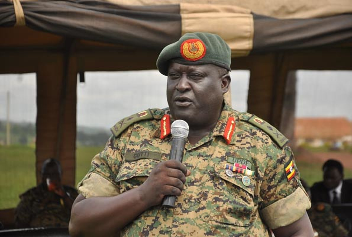 President Museveni has renewed Lt Gen Andrew Gutti's tenure as Chairman General Court Martial, (FILE PHOTO)