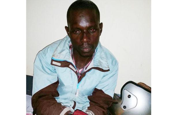 Musaasizi Musa at Kyotera police.