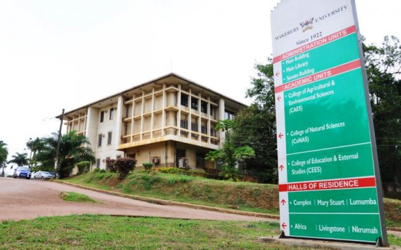 College of Natural Sciences (CoNAS) Western View, Makerere University Kampala (FILE PHOTO)
