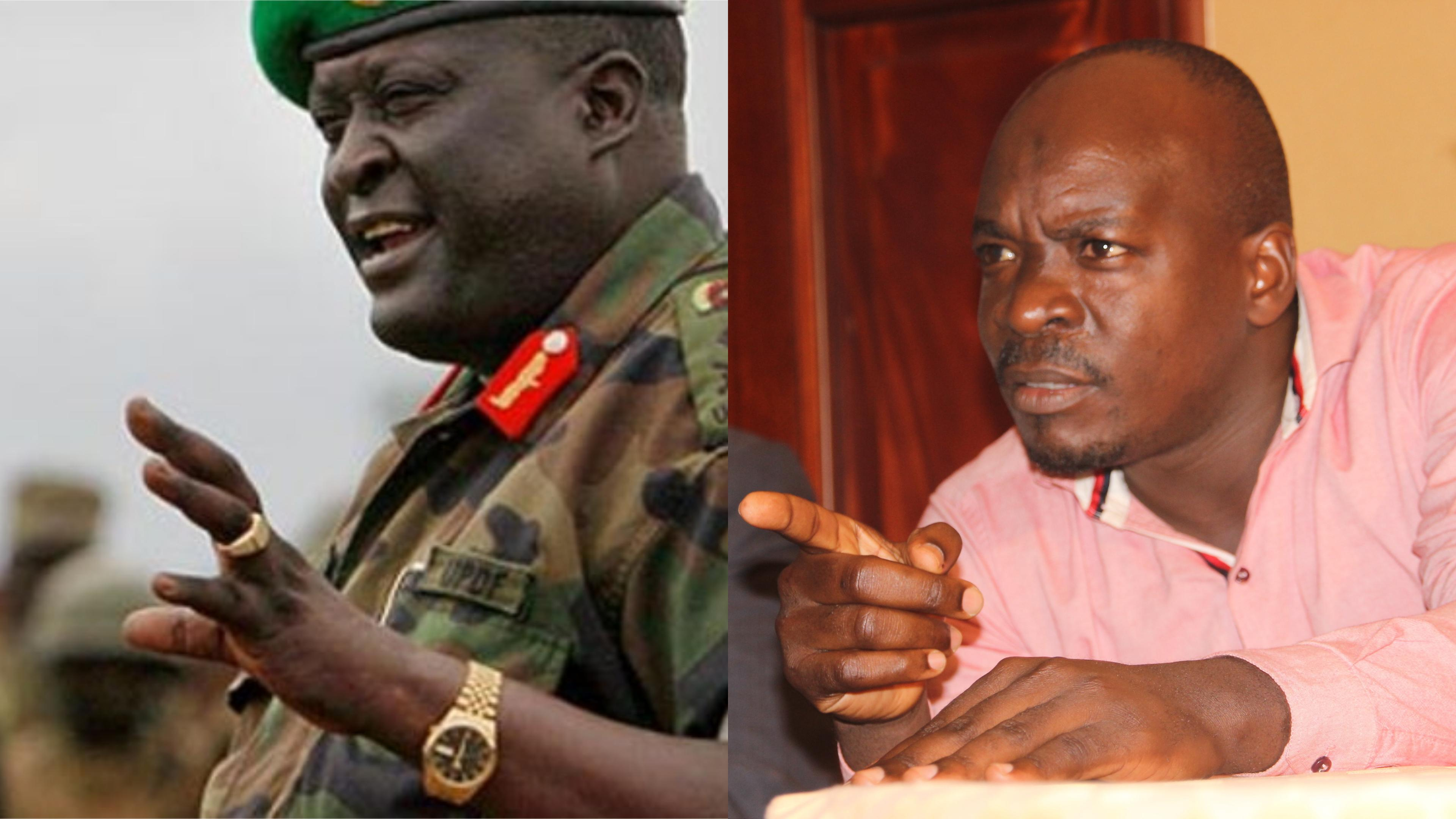 Chairman of the General Court Martial, Gen. Gutti Andrew has confirmed that ex-Bodaboda 2010 chairman,Abdalah Kitatta has a case to anwer (FILE PHOTO)