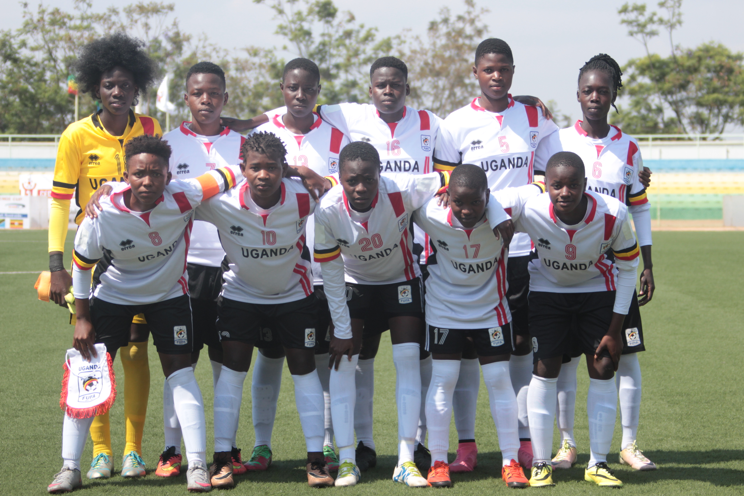 The Crested Cranes have now lost one game in this year's CECAFA Championships (Photo by FUFA Media)