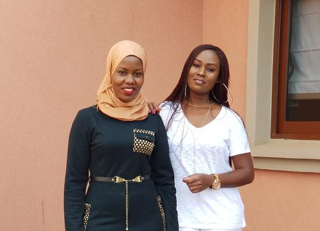 Music icon Juliana Kanyomozi soon starting her talk show 'The Sit Down with Yana'(in white) with NTV's Faridah Nakazibwe