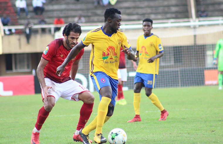 KCCA FC defeated Al Ahly 2-0 in their last Champions League game (File Photo)