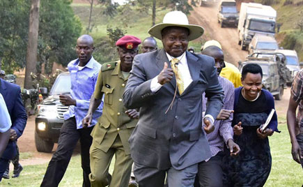 President Museveni to officiate National Physical Activity Day that will be held tomorrow July 8 at Kololo. Government to offer free cancer screening services at Fitness Day launch. (FILE PHOTO)