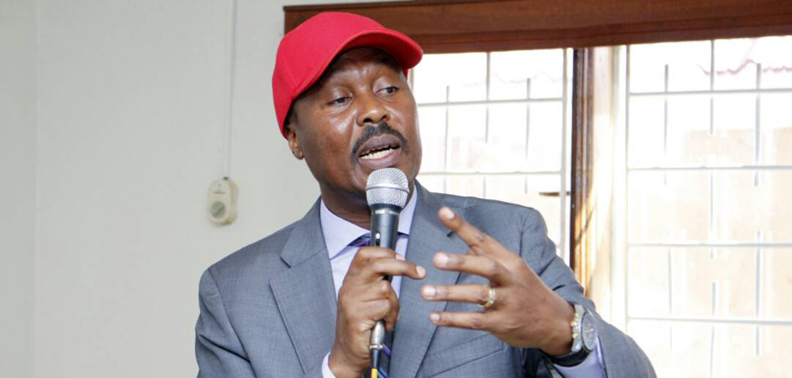 Former FDC President Maj. Gen. Mugisha Muntu describes the recent imposed tax as corruption. (PHOTO: FILE)