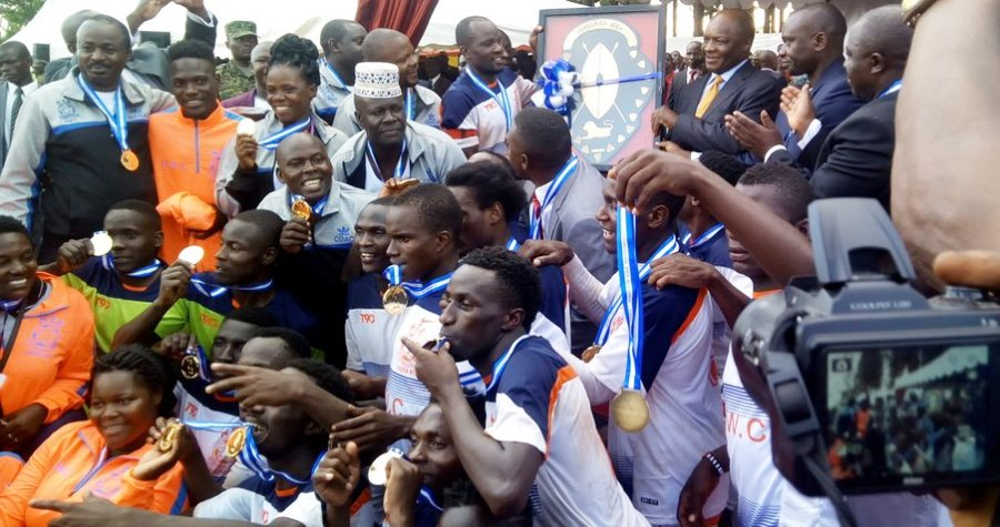 Nte defeated Ffumbe in Luwero to win the 2017 title (Photo by Agency)