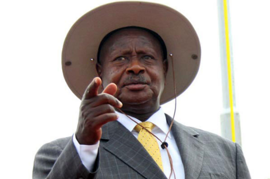 President Museveni has halted creation of new districts citing increase in administrative costs (FILE PHOTO)