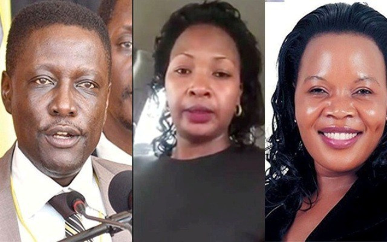 Ssalongo Paul Musoke Sebulime, Nnalongo Lukiya Ntale and Judith Babirye (FILE PHOTO)