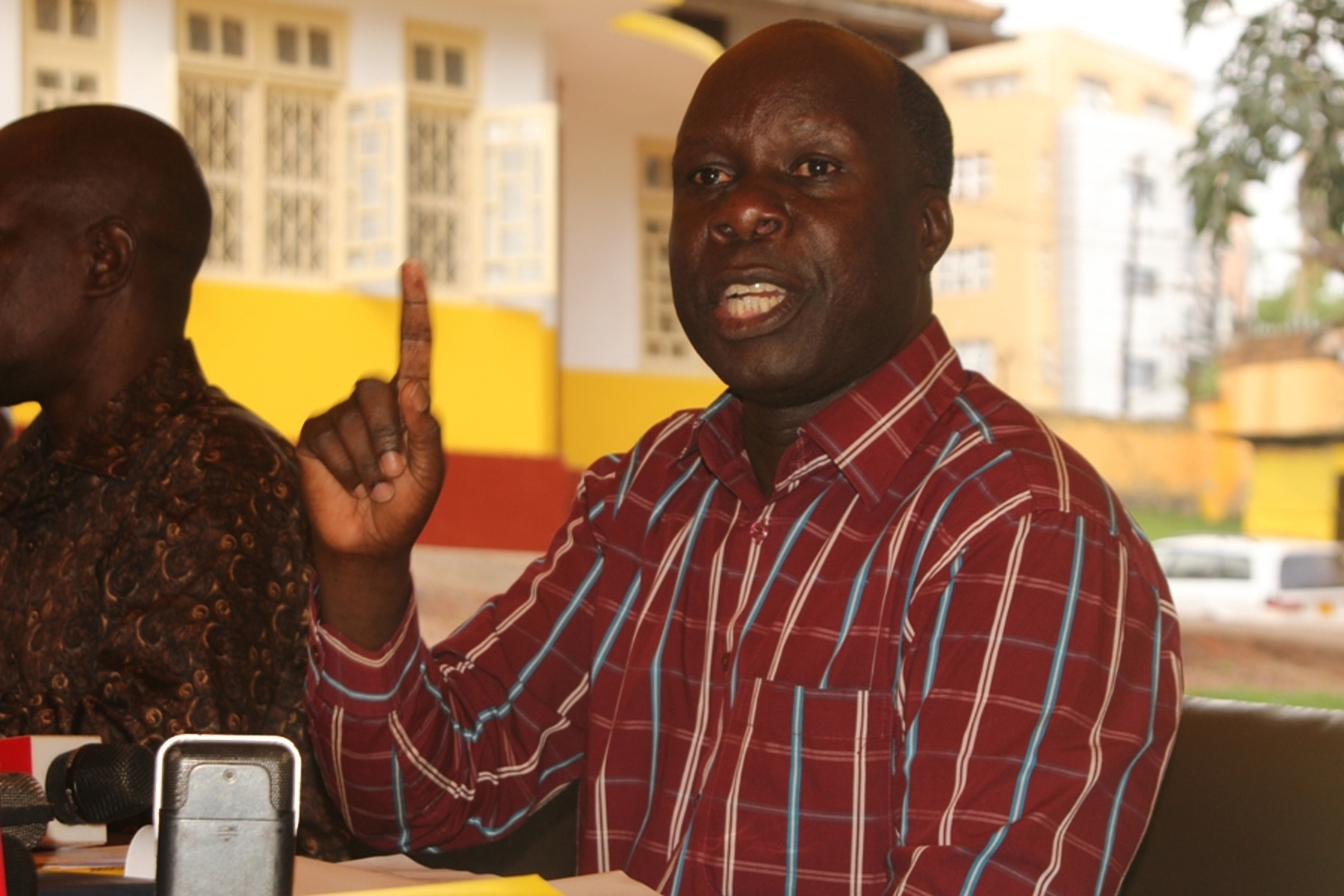 The NRM electoral commission Chairman, Mr Tanga Odoi, believes all the contestants have the potential to carry the party flag r to retain the seat following the assassination of Col (Rtd) Ibrahim Abiriga (FILE PHOTO)