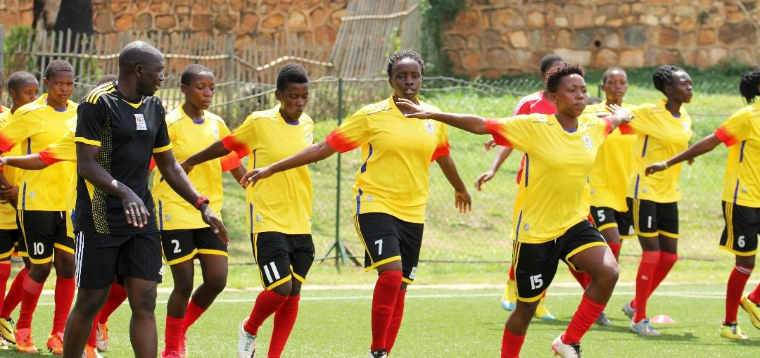 The Crested Cranes are preparing for the up coming CECAFA Women's championships in Rwanda (Photo by FUFA Media)