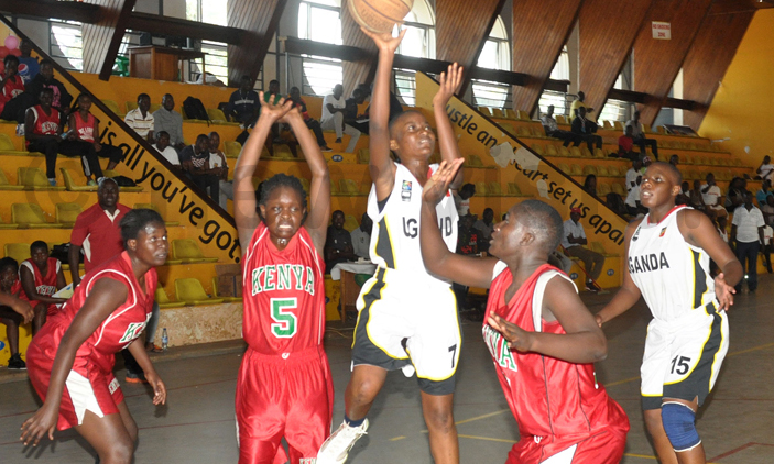 Uganda U18 Women's Basketball team will be making a third appearance at the games (File Photo)