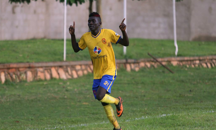Shaban Muhammad has been at KCCA FC for less than a year (File Photo)