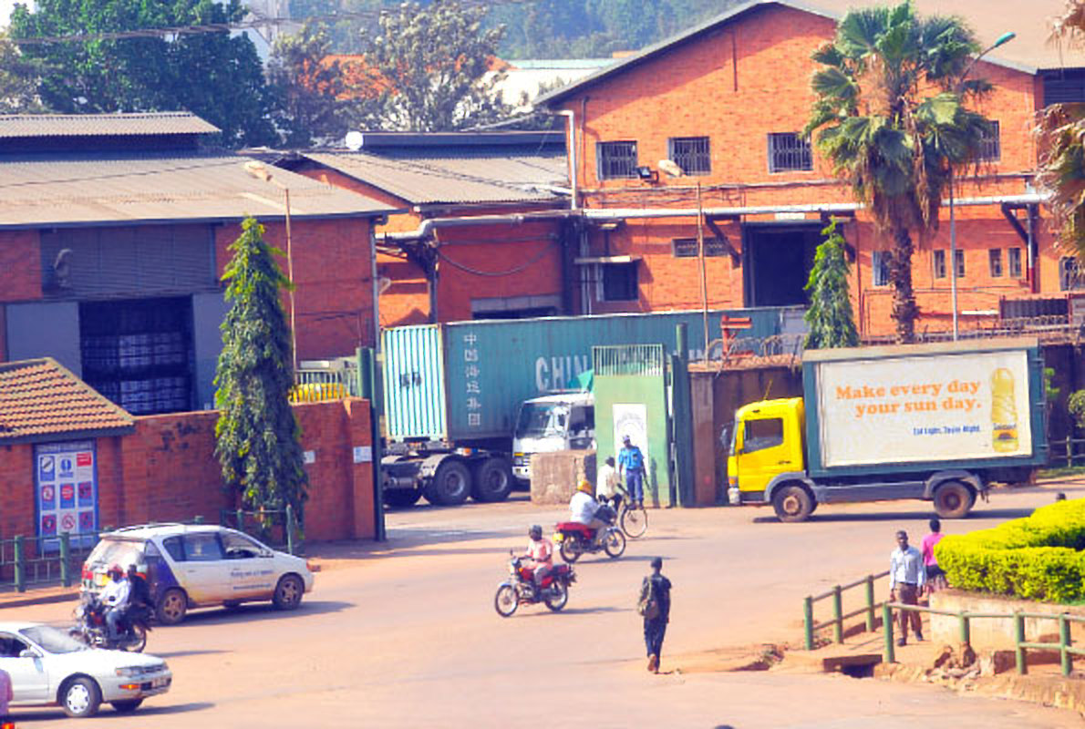 Mukwano Group of Companies factory premises in Industrial Area, Kampala. An American investor has bought stake in the firm (FILE PHOTO)