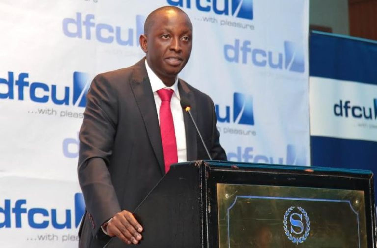DFCU Chief of Business & Executive Director Mr William Ssekabembe has declined a lucrative offer at KCB bank to stay at DFCU Bank (FILE PHOTO)