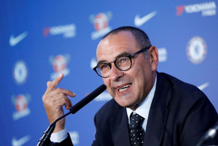 Maurizio Sarri was announced as new Chelsea manager at the start of this month