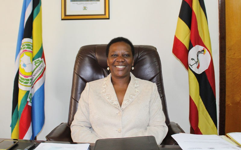 Minister of Energy and Mineral Development, Irene Muloni (FILE PHOTO)