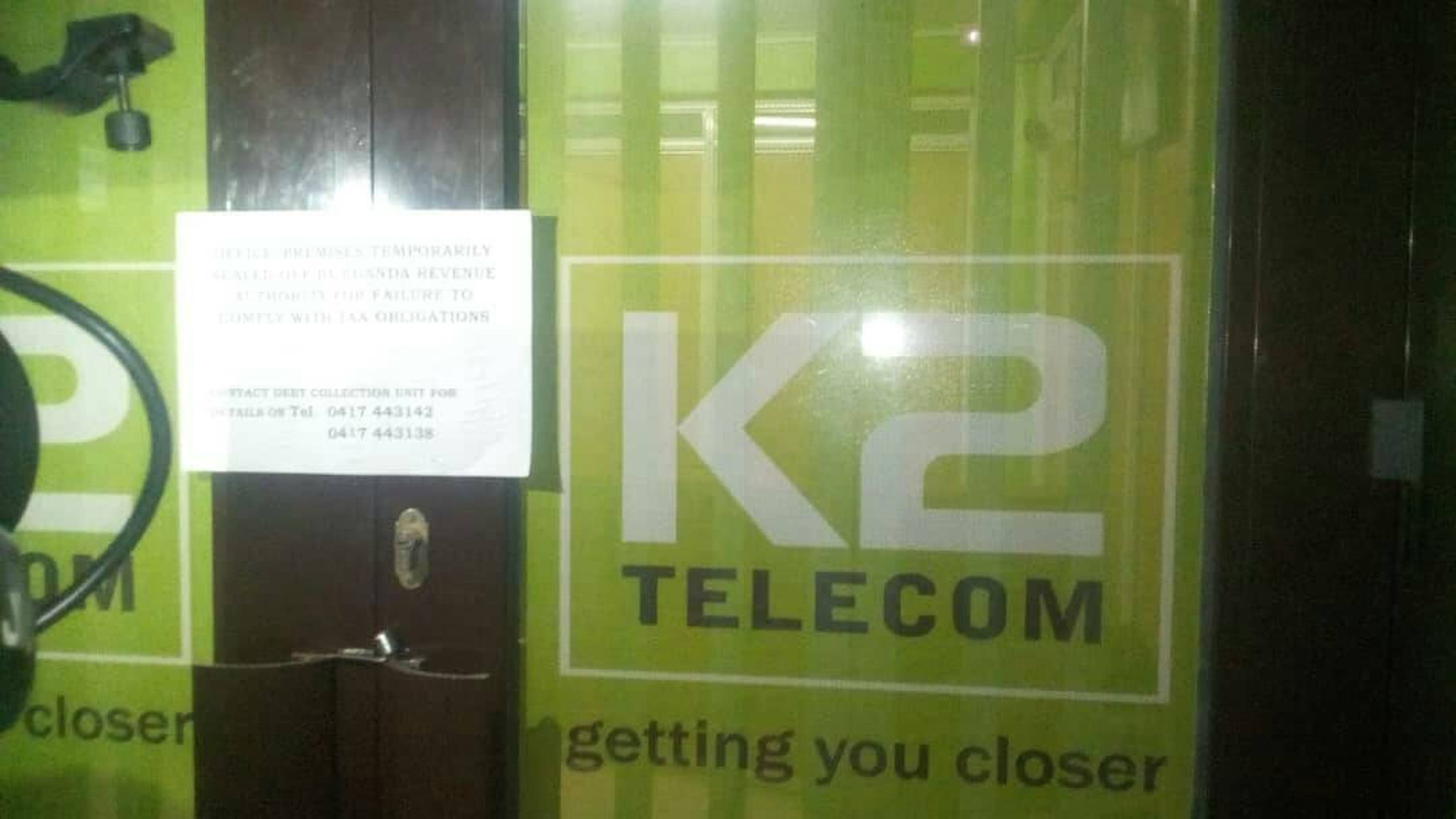 Buganda Kingdom claim URA used a discriminative taxation policy to close K2 telecom offices over failure to pay Shs77.8m as PAYE in May 2018 (FILE PHOTO)