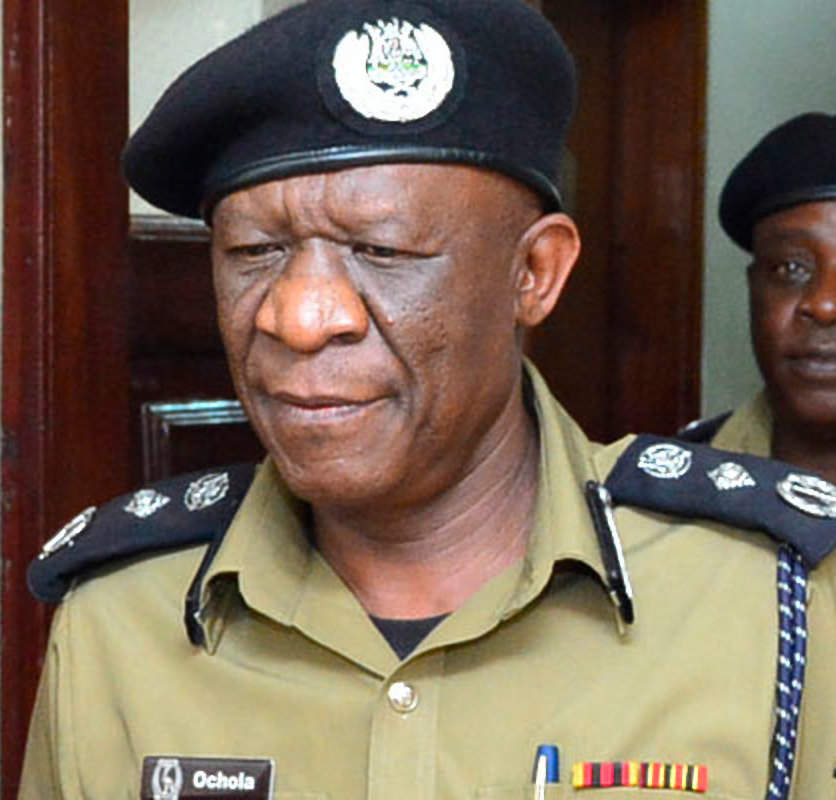 IGP Martin Okoth Ochola. Uganda Police has todat welcomed the appointment of Army offiicers in the force. (FILE PHOTO