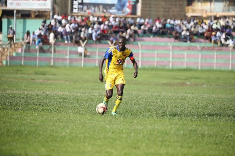 Denis Okot lost his starting place at KCCA FC last season (file photo)