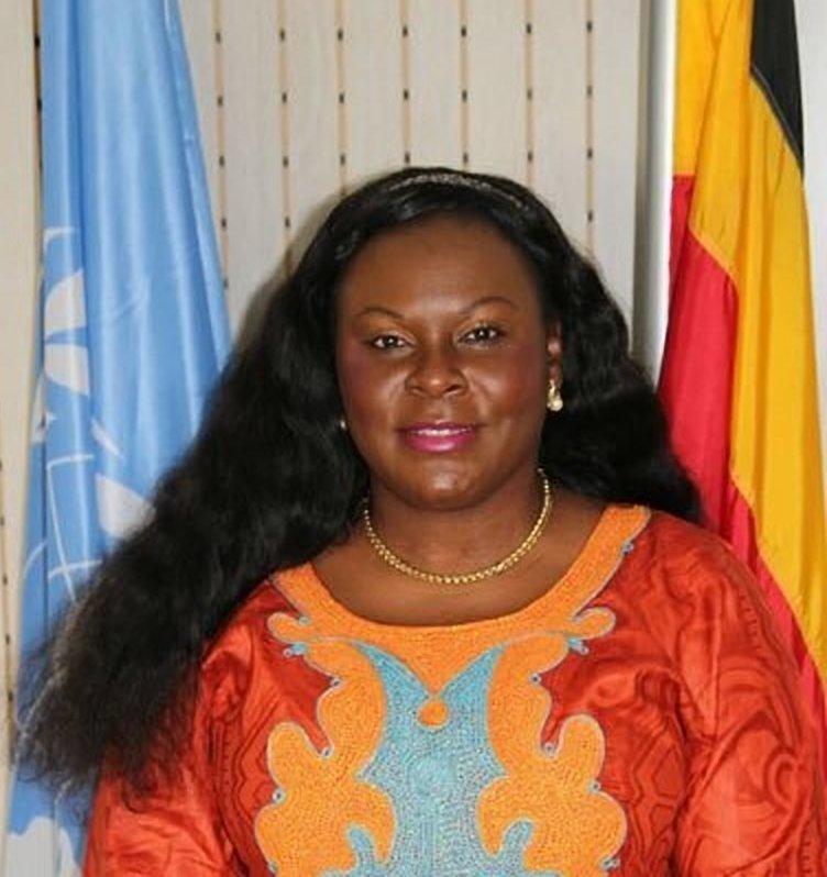 UN Resident Coordinator and UNDP Resident Representative for the Republic of Uganda, Ms. Rosa Malango.