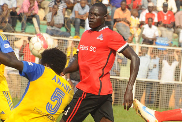 Alfred Leku (right) spent the second half of last season at Express FC (File Photo)