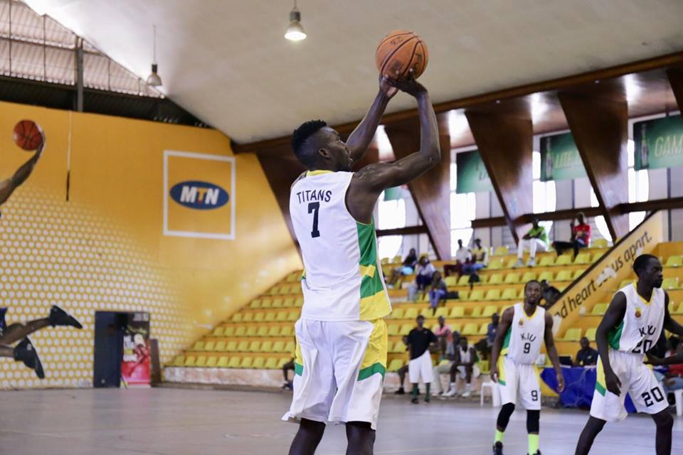 KIU Titans defeated UPDF 102-52 in their last game (File Photo)