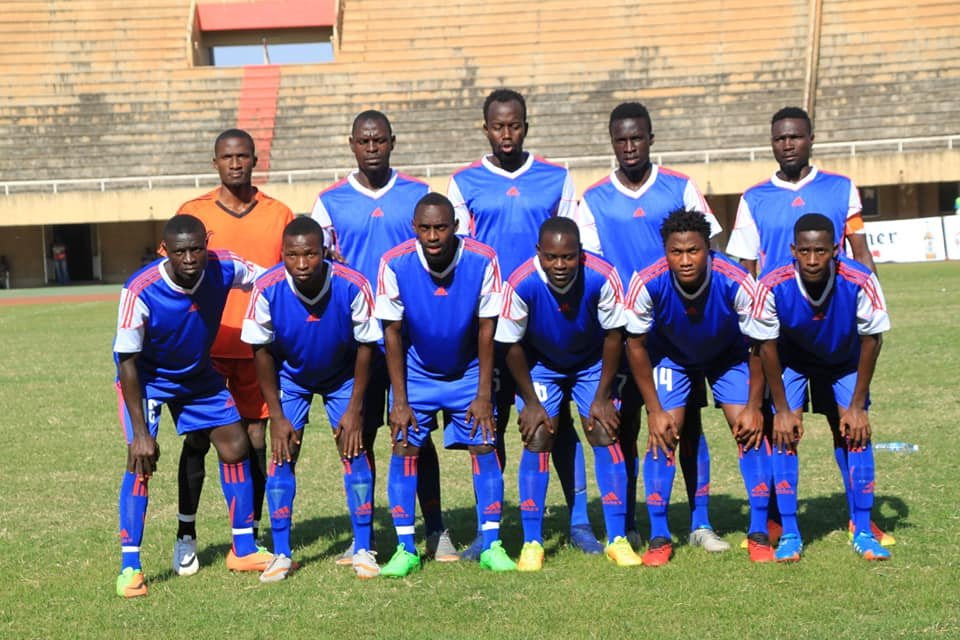 The SC Villa team that started against URA FC on Thursday afternoon (photo by shaban lubega)