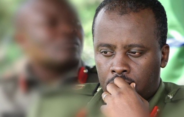 Derrick Kibirige, 18, claims his father, Sulaiman Ssenfuka, was picked up by security operatives on the directives of the CDF Gen David Muhoozi in Kawempe Division on October 11. (FILE PHOTO)
