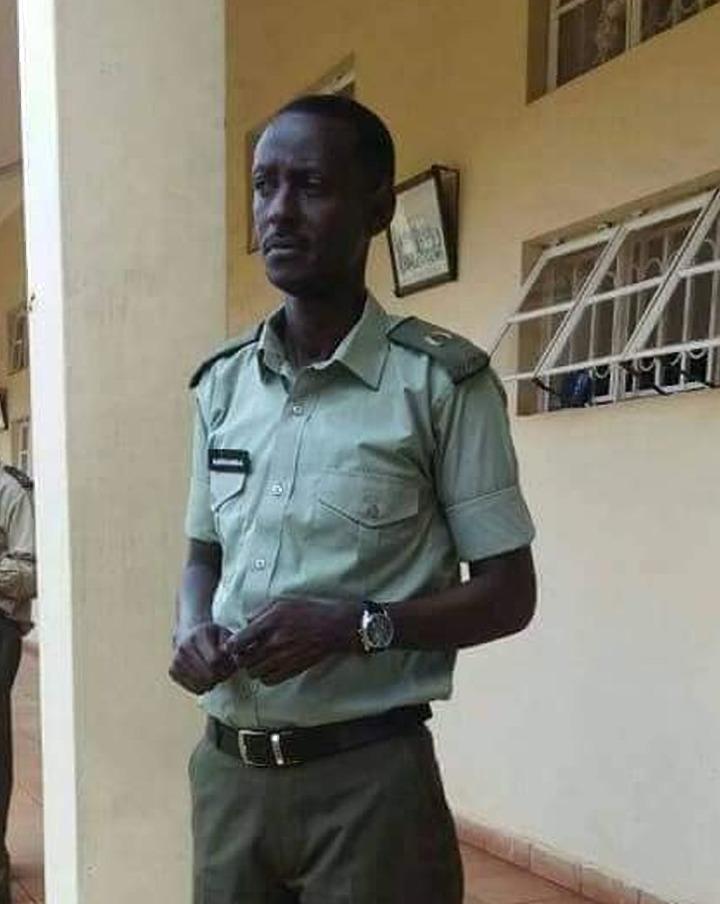 Maj. Richard Karuhanga aka Shuunu, a senior officer of the UPDF died in an accident (FILE PHOTO)